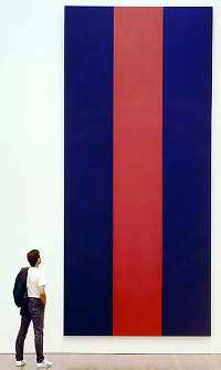Barnett Newman's Voice of Fire, a paean to the gullibility of homo academicus.